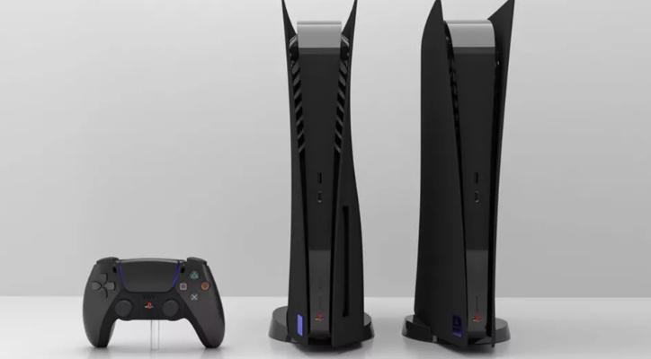 Νέα μαύρη custom έκδοση του PS5 που παραπέμπει στην όψη του PS2 1