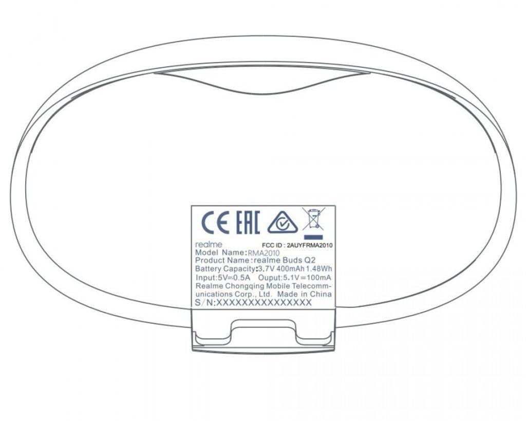 Το νέο ζεύγος ασύρματων ακουστικών Realme Buds Q2, έλαβε πιστοποίηση FCC 1
