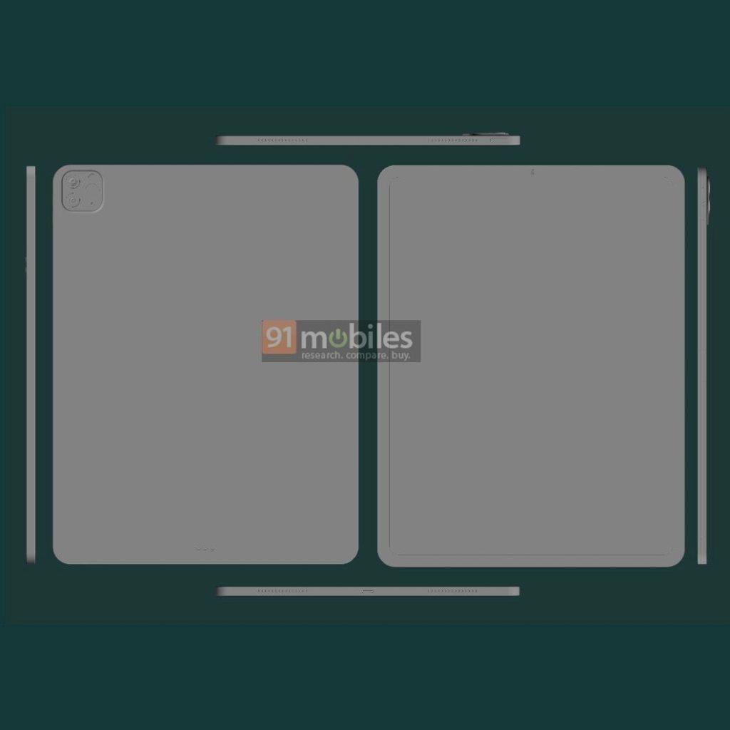 Ουδεμία σχεδιαστική αλλαγή στα νέα iPad Pro 11 και 12,9 ιντσών, εκτός από έναν αναγνώστη δακτυλικών αποτυπωμάτων 3