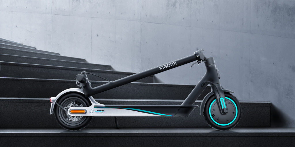 Η Xiaomi κυκλοφορεί το Mi Electric Scooter Pro 2 Mercedes-AMG Petronas F1 Team Edition 1